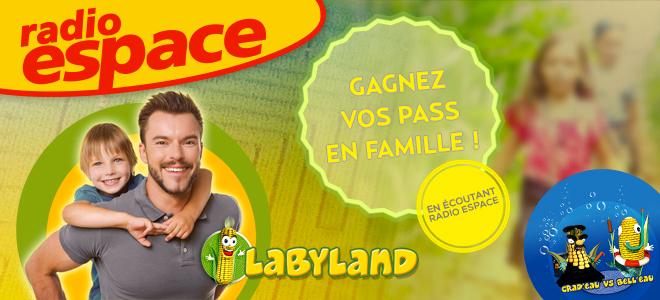 GAGNEZ VOS PASS POUR LABYLAND !