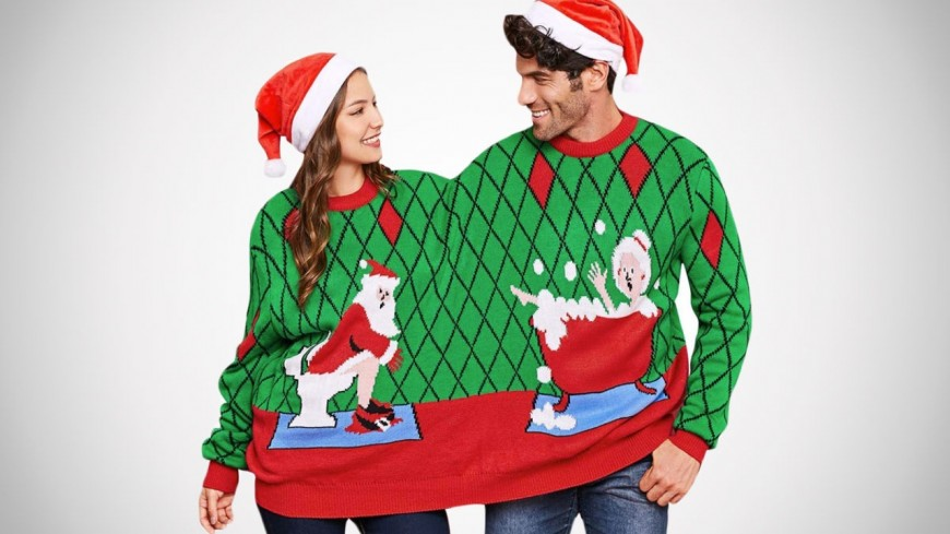 """""""UGLY Christmas Sweater Day"""""""