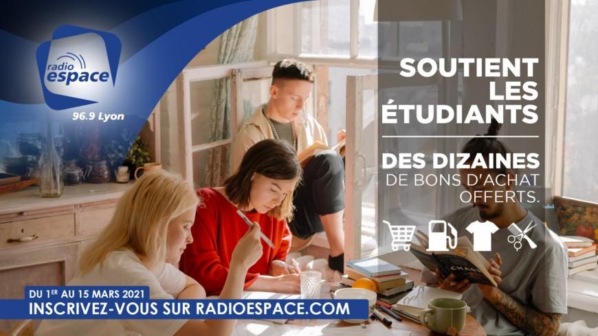Radio Espace soutient les étudiants