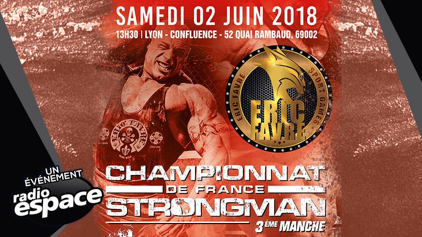 CHAMPIONNAT DE FRANCE STRONGMAN - 3ème MANCHE !