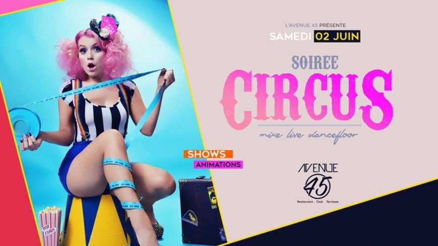 • Circus • Shows, Animations & Mix Live •