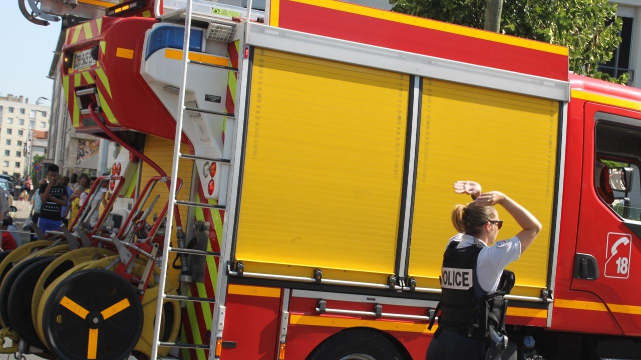 Lyon : violent incendie dans un appartement du 8e arrondissement.