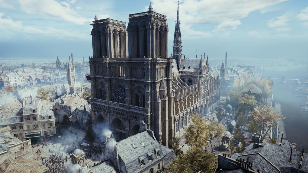 Notre-Dame : Assassin's Creed Unity proposé gratuitement !