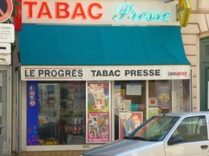 Un bureau de tabac de bellecour braqué dimanche matin