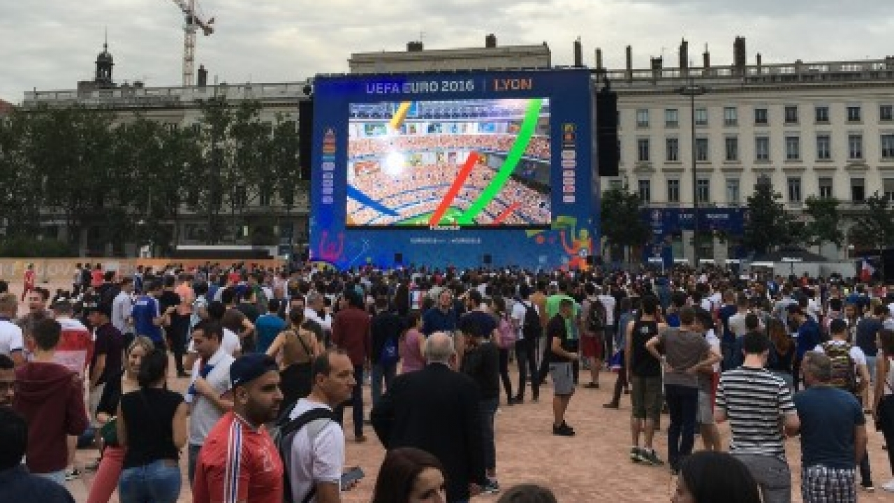 Finale de la Coupe du Monde : une Fan zone sur la place Bellecour
