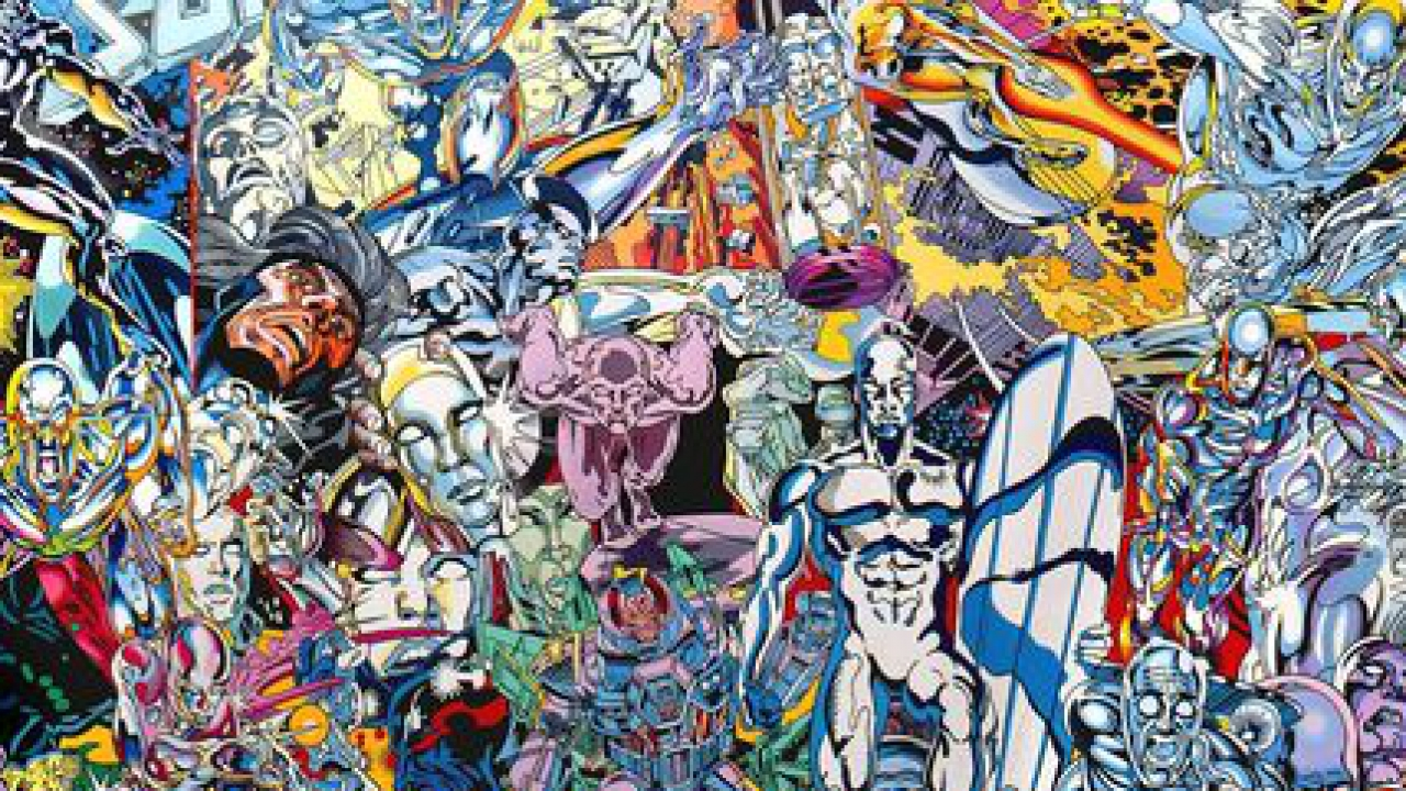 l'artiste erró donne à la ville de lyon un de ses tableaux