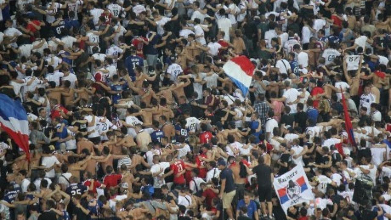 Pas de supporters lyonnais au Vélodrome — OL