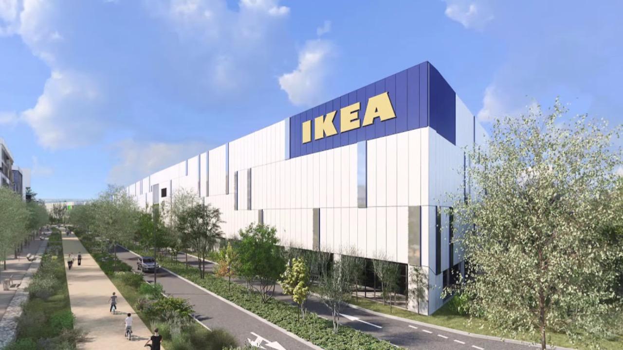 IKEA déménage à Parilly et devient le plus grand de France