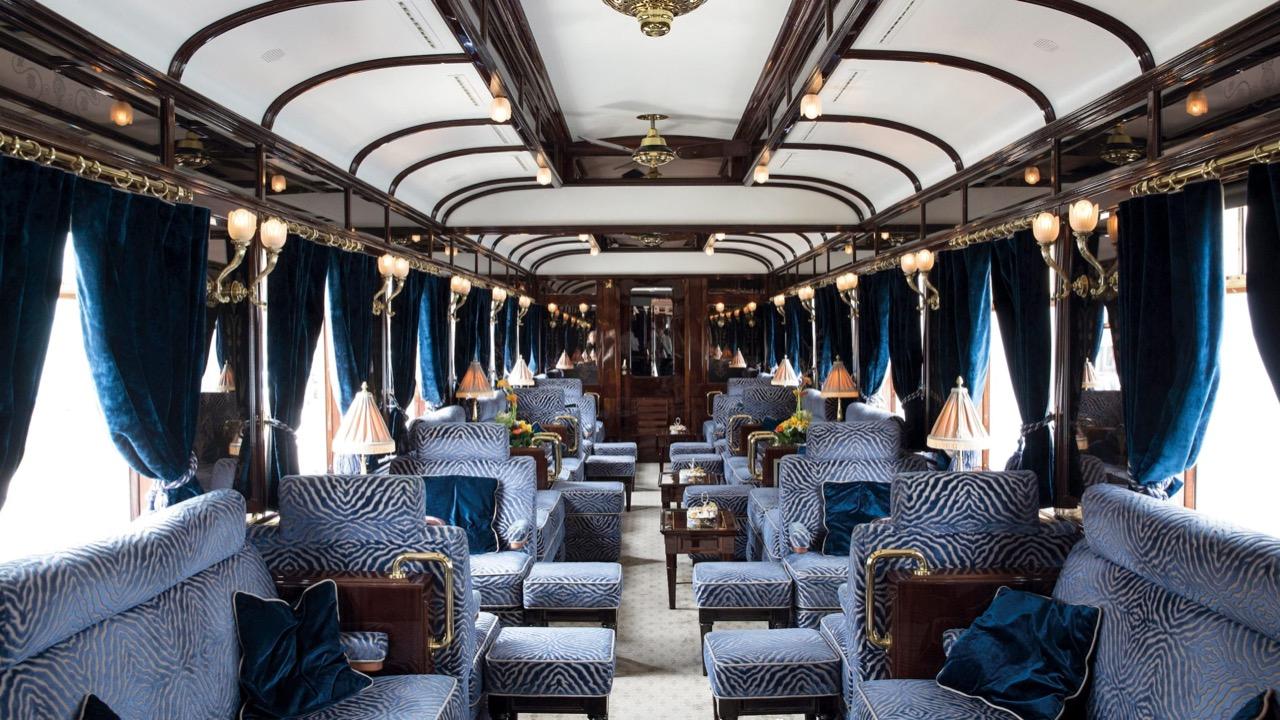 l'Orient-Express arrive à Perrache