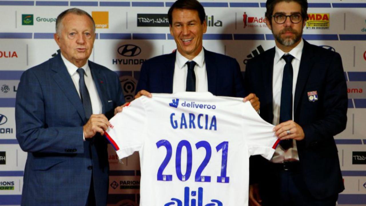 """Rudi Garcia souhaite """"retrouver un rang plus conforme à l'OL"""""""