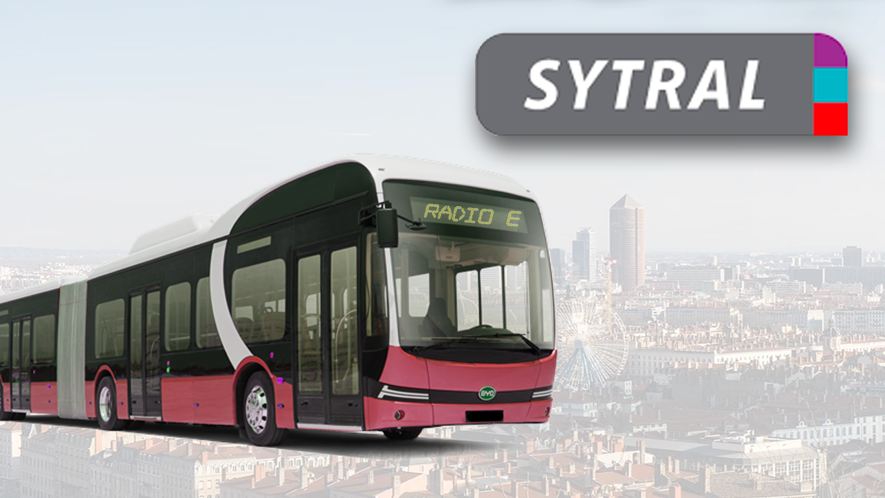 Le Sytral mise sur les bus à hydrogène