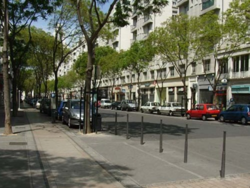 l avenue henri barbusse de villeurbanne pi tonne
