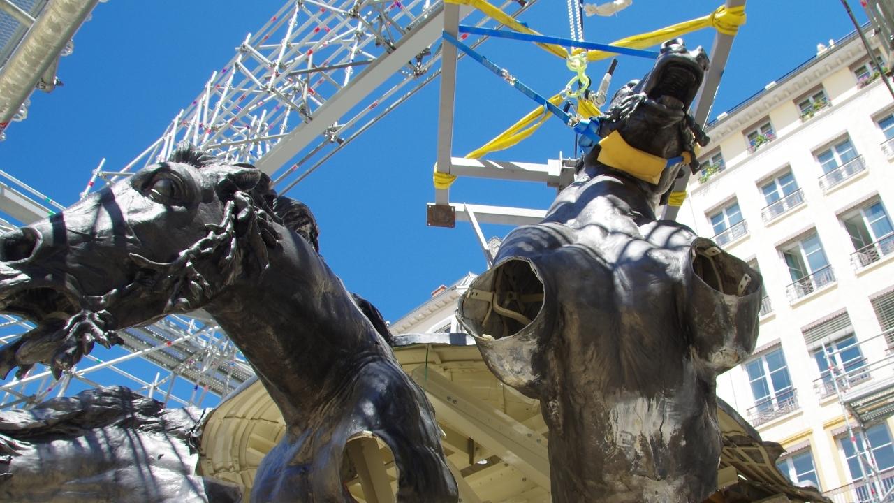 La rénovation de la fontaine Bartholdi coûtera plus de 400 000 euros supplémentaires