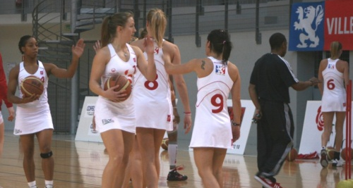 Basket les filles de lyon n iront pas en finale de coupe - Finale coupe de france basket feminin ...