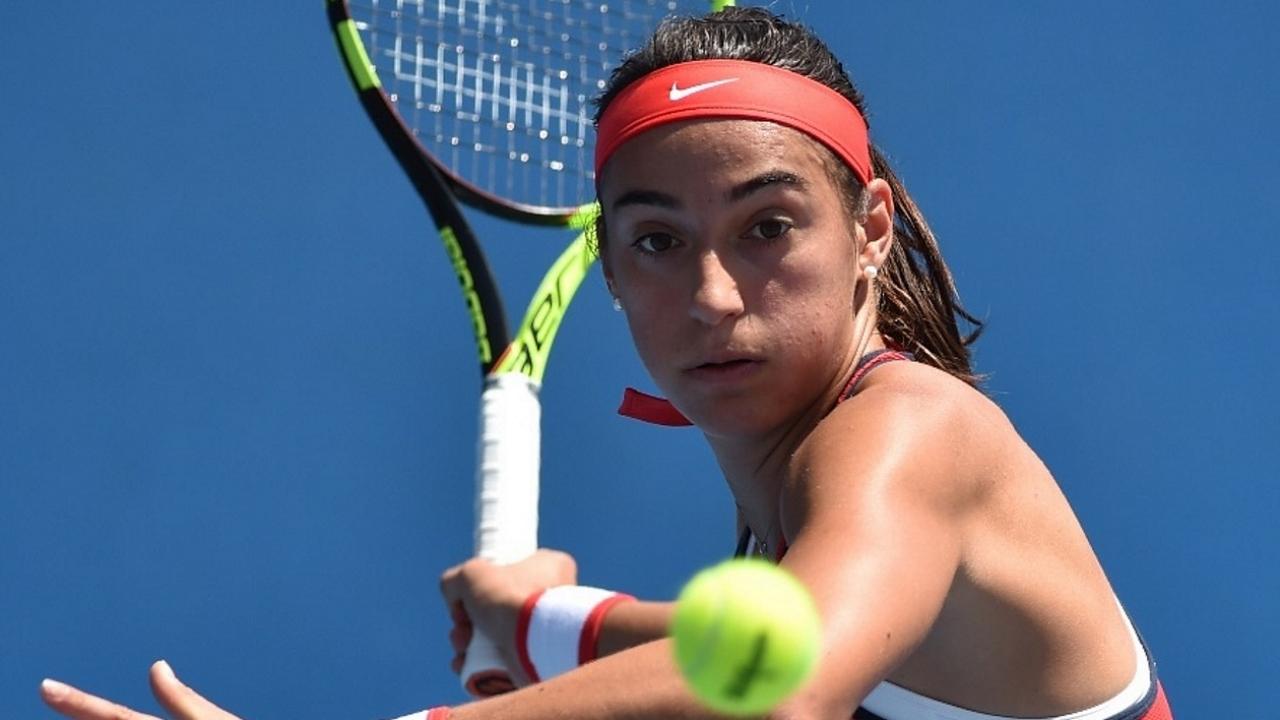 Caroline Garcia pour la première fois en huitièmes de finale — Wimbledon