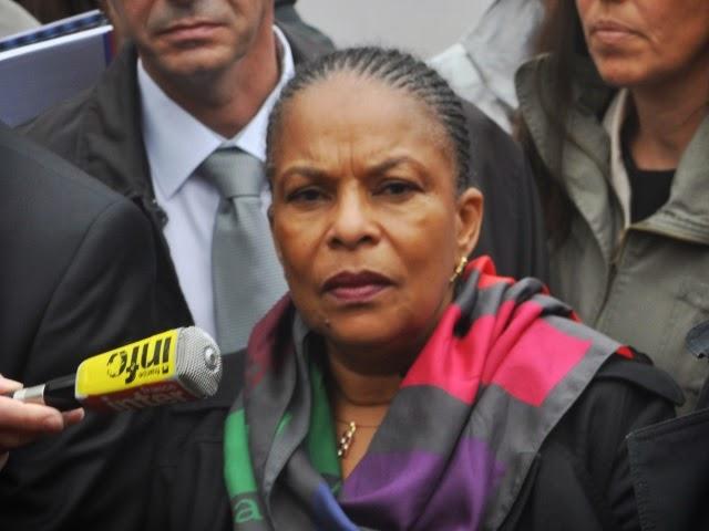 Salle refusée par la Mairie de Lyon : la réponse de Christiane Taubira