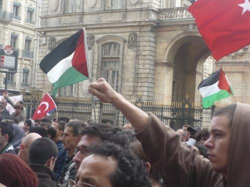 Lyon : une cinquantaine de militants du collectif 69 Palestine Lyon arrêtés