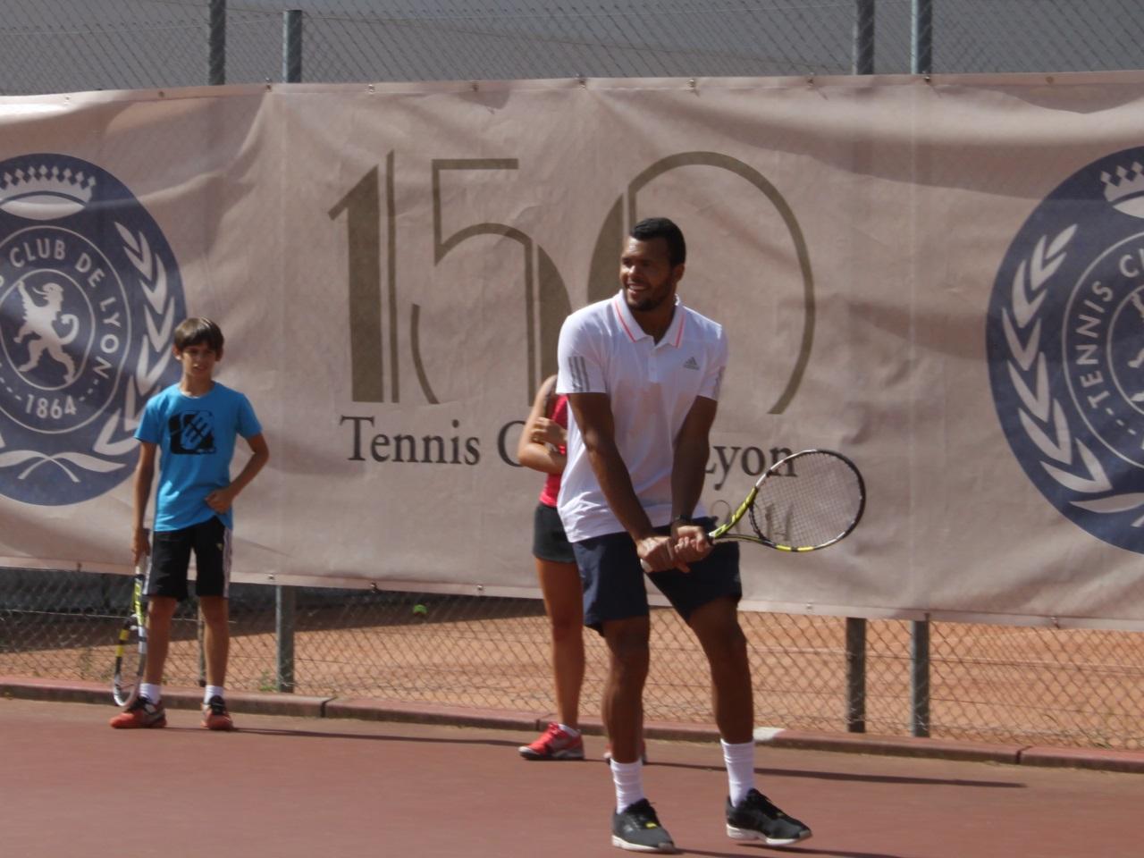Jo-Wilfried Tsonga couronné à Lyon — ATP
