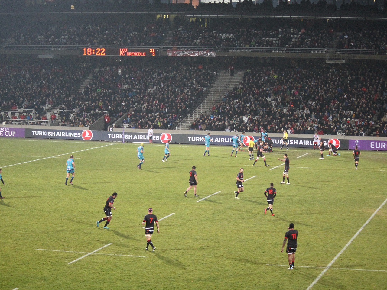 Champions Cup : une demi-finale au Matmut Stadium de Gerland ?