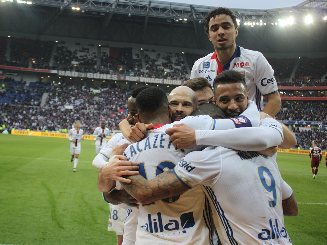 OL-Metz : Lyon reste sur son petit nuage (5-0)