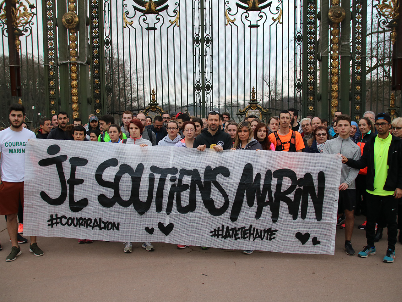 Déjà près de 80 000 euros récoltés par l'association pour Marin, le héros de la Part-Dieu