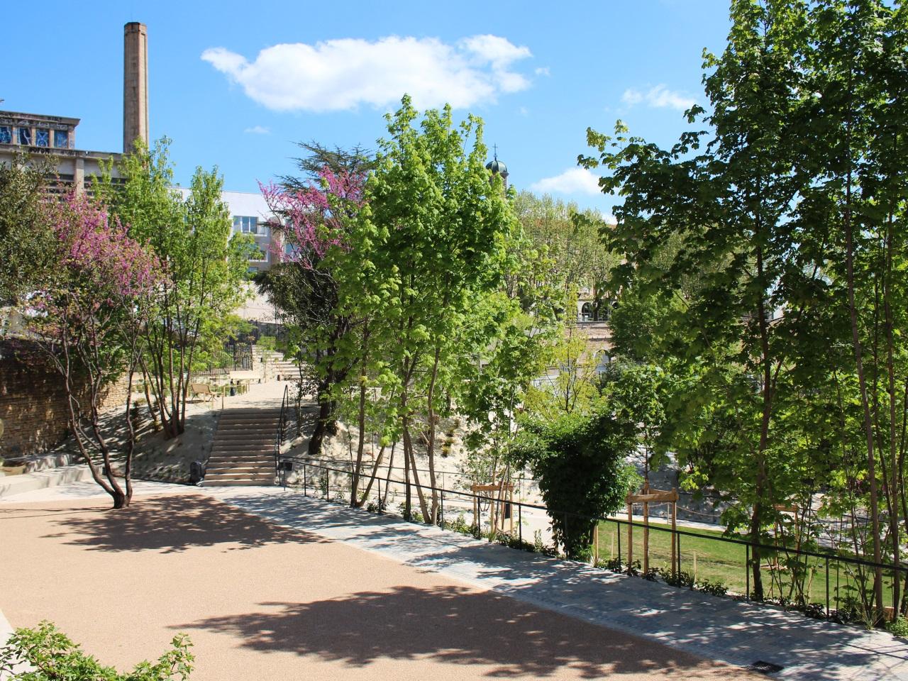 Lyon le jardin andr malraux inaugur au c ur de la for Jardin lyon