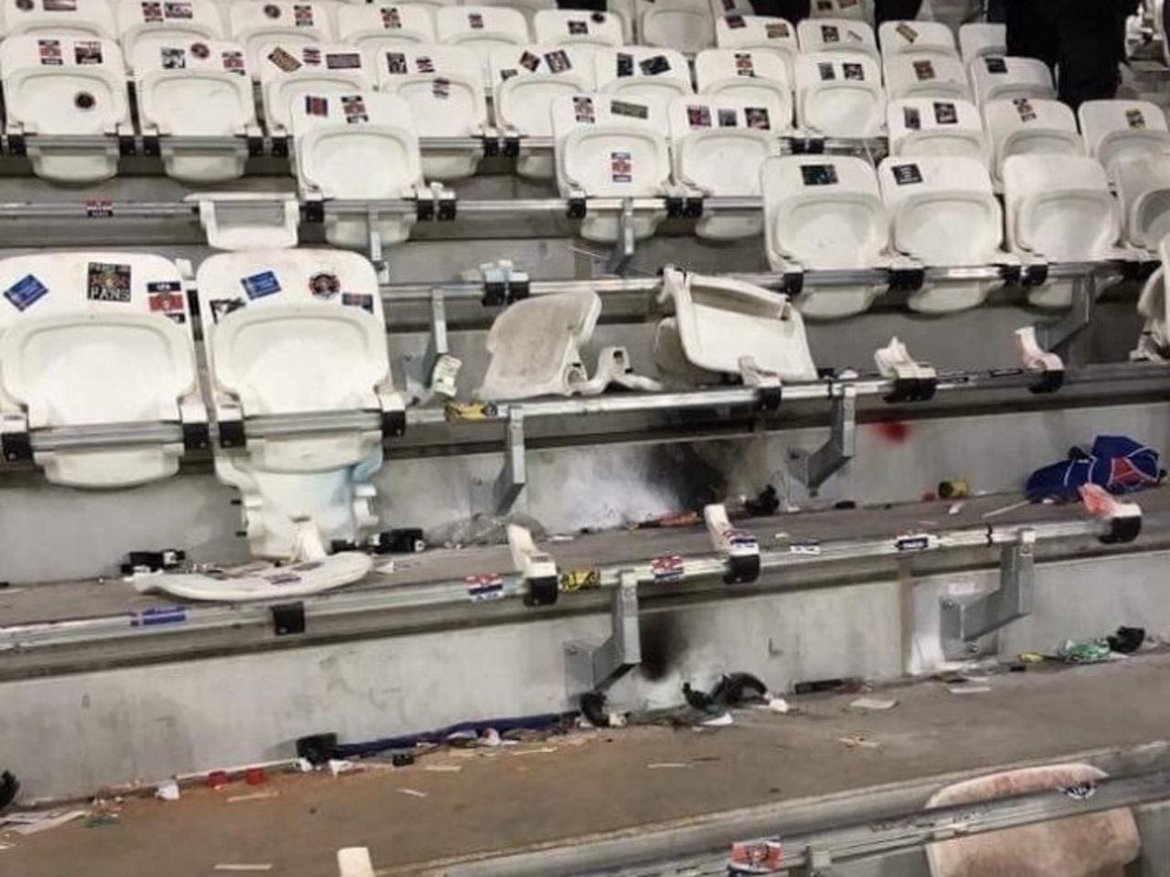 Dégradations au Parc OL : le PSG échappe au pire