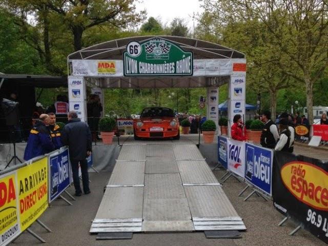 Sports : début de la 69è édition du rallye de Lyon-Charbonnières