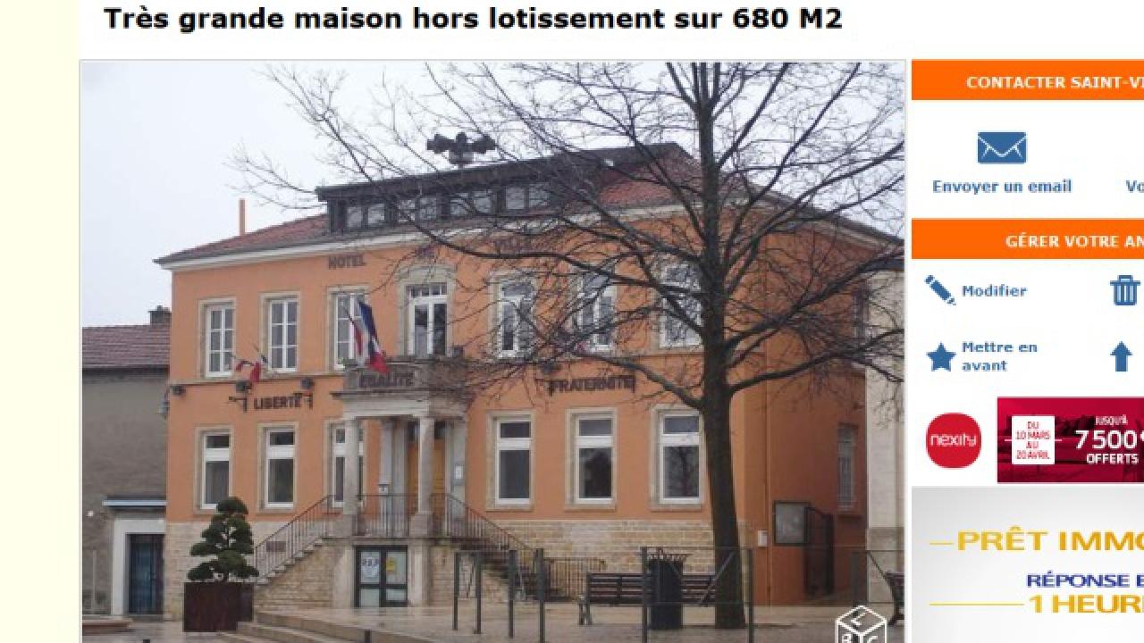 La mairie de mions tr s grande maison en vente sur le - Vente maison particulier le bon coin ...
