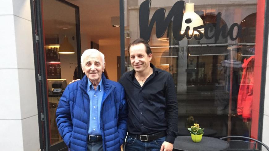 Mort de Charles Aznavour : La lettre bouleversante de son fils Mischa !