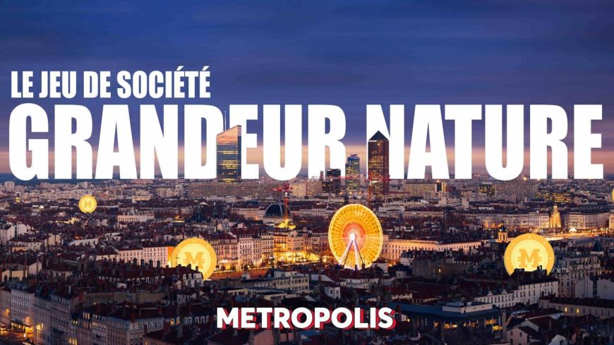 Métropolis : Le jeu de société qui envahit la ville de Lyon !
