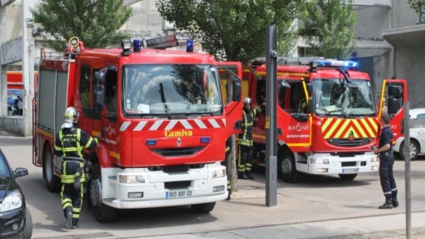 Lyon : Il frappe les pompiers qu'il venait d'appeler !