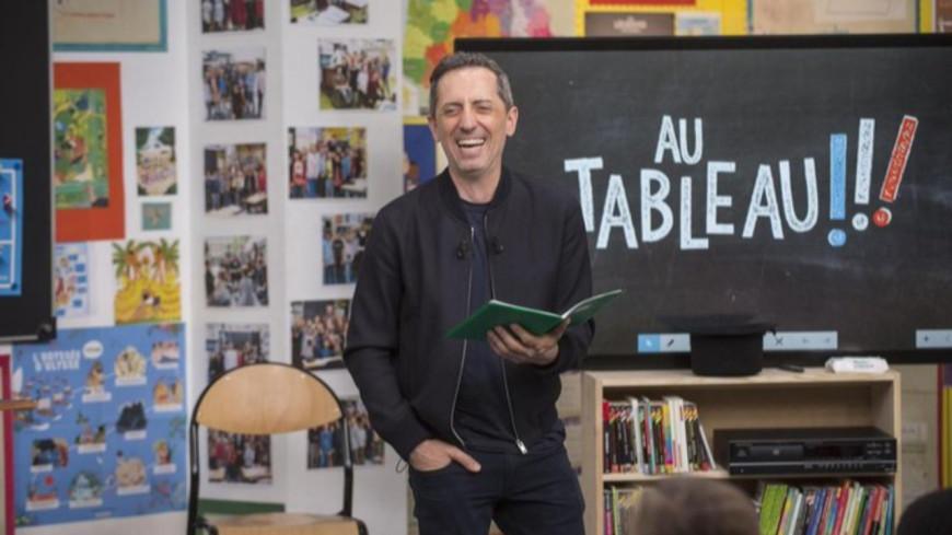 """Gad Elmaleh mis à mal dans """"Au Tableau !"""""""