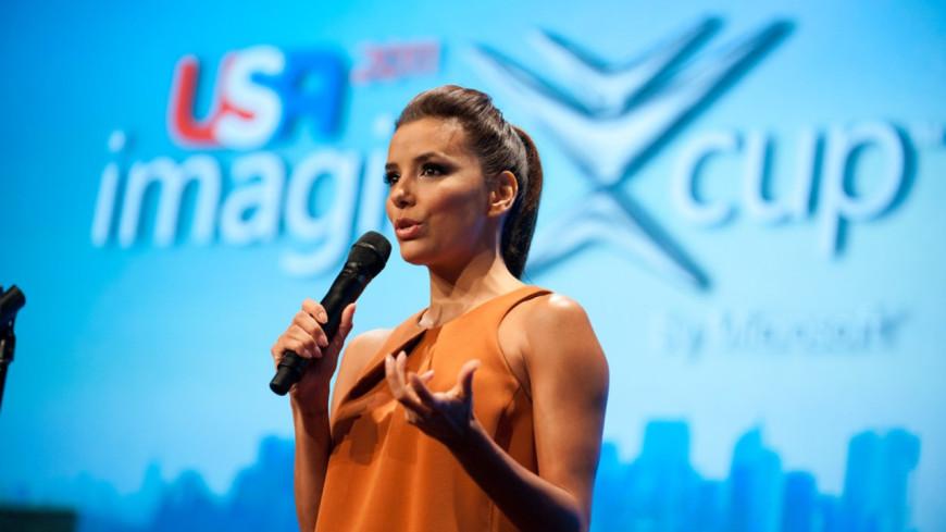 Eva Longoria : Marraine de la fille de Victoria Beckham