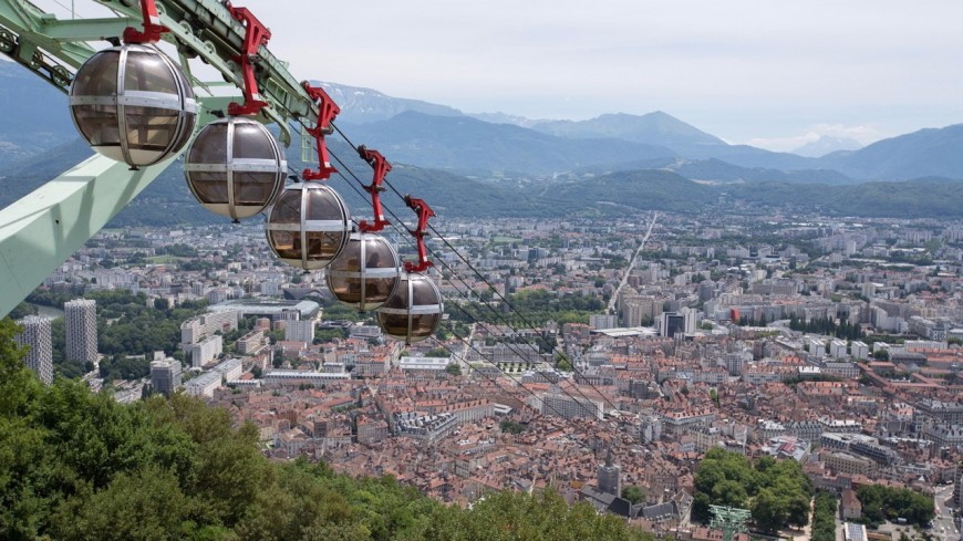 Deux projets de transport par télécabines à l'étude à Lyon