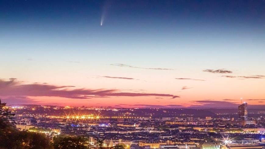 Une comète visible dans le ciel de Lyon pendant tout le mois de juillet