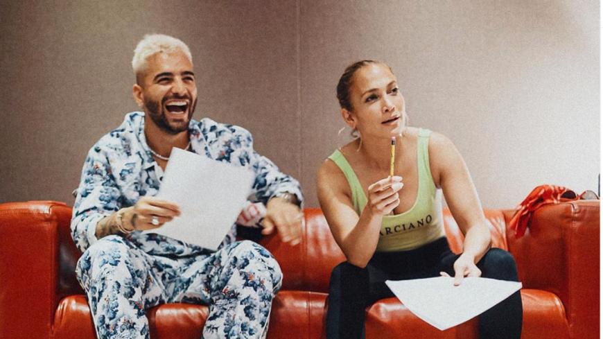 Maluma et Jennifer Lopez ensemble en studio !