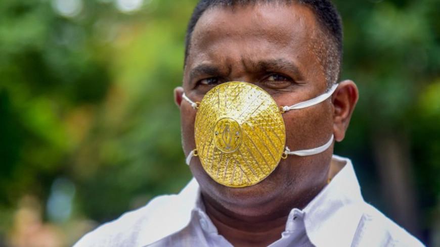 Un homme débourse 3 500 euros pour un masque en or !