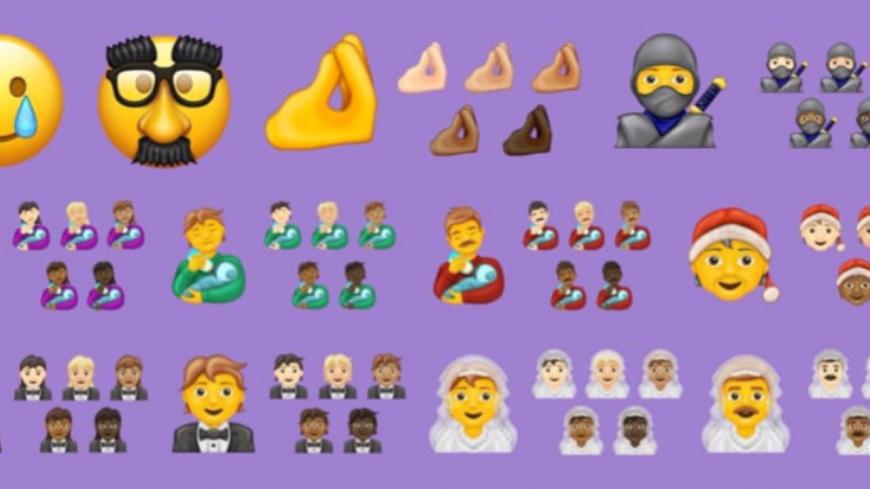 Plus de 100 nouveaux emojis débarquent sur les smartphones à la fin de l'année ! (photos)
