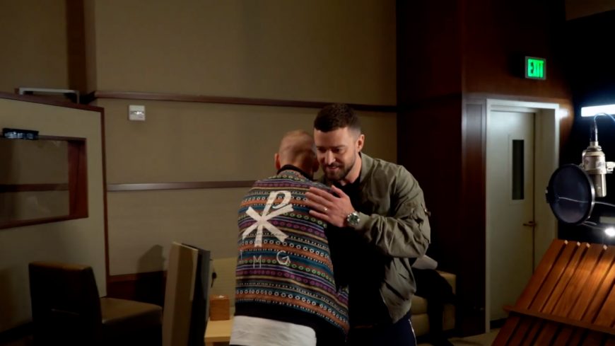 Quand M. Pokora rencontre Justin Timberlake ! (vidéo)