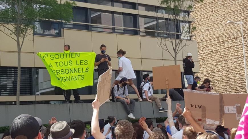 Une nouvelle manifestation des soignants ce jeudi à Lyon