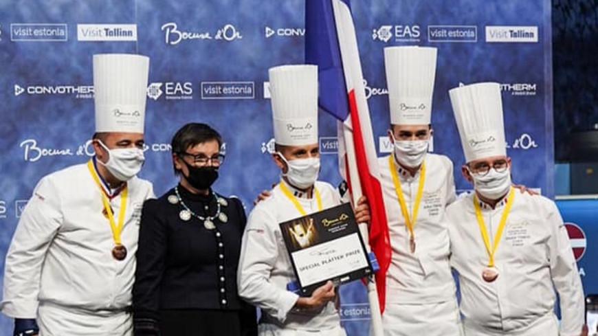 Le chef lyonnais Davy Tissot se qualifie pour la finale du Bocuse d'Or