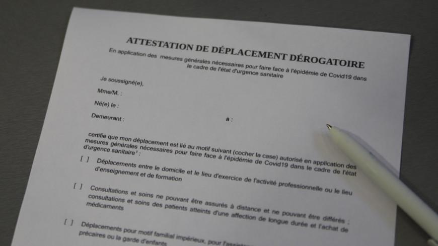 Couvre-feu à Lyon : l'attestation de déplacement est disponible