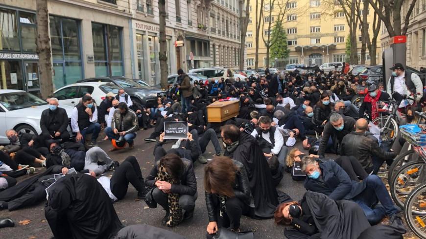 Le cri d'agonie des commerçants, restaurateurs et hôteliers ce lundi matin à Lyon