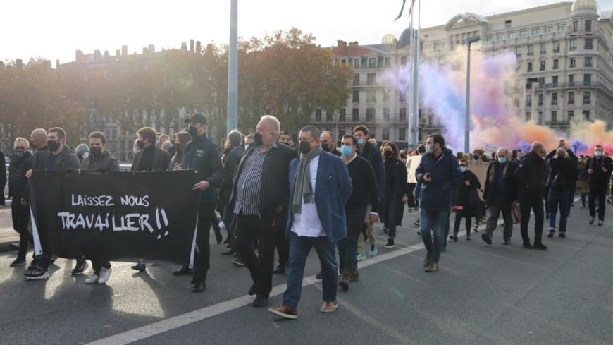 Lyon : les indépendants préparent une nouvelle manifestation contre les mesures du confinement