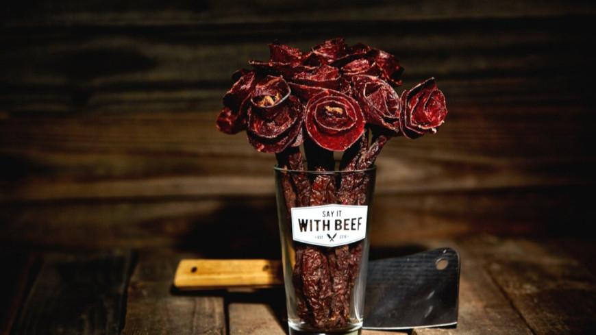 Voici le bouquet de fleurs de charcuterie (photos)