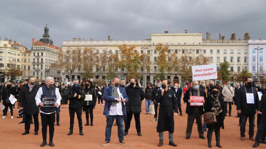 Lyon: une manifestation pour la réouverture des restaurants ce lundi sur la place Bellecour