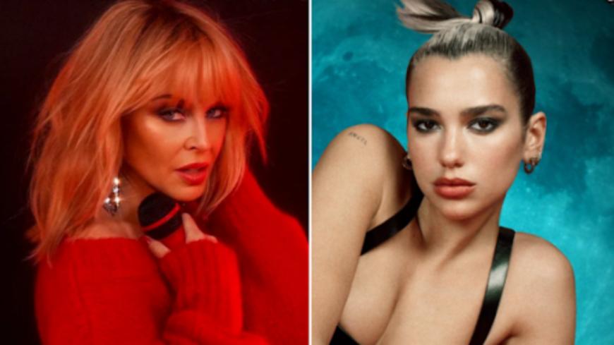 """Kylie Minogue & Dua Lipa réunies sur le remix """"Real Groove"""" (Audio)"""