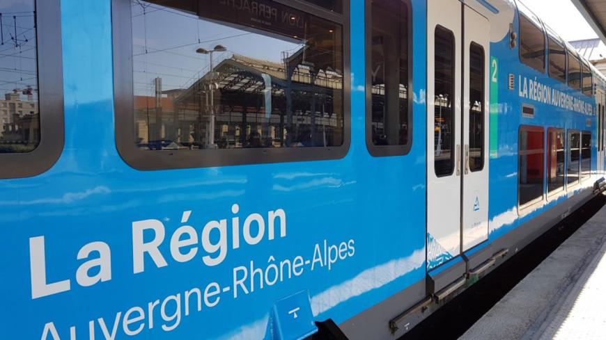 La ligne TER Lyon-Roanne à l'arrêt après un accident