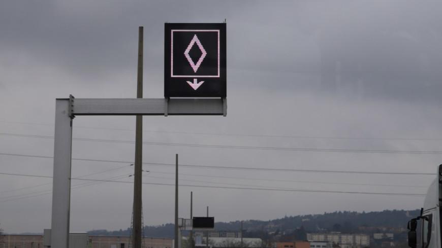 Lyon : la verbalisation sur les voies de covoiturage de la M6/M7 va bientôt commencer